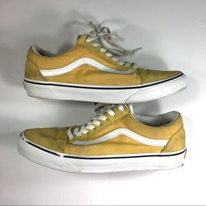 Vans Old Skool Low Yellow Sneakers
